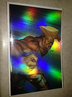 Street Fighter 4 Image Comics Udon Holofoil Jo Chen Special power foil cover