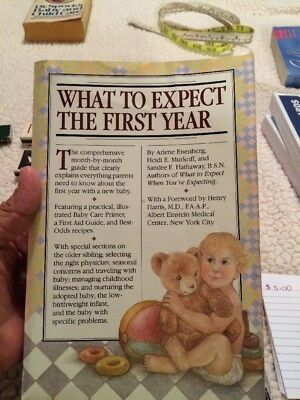 New  WHAT TO EXPECT THE FIRST YEAR  Book