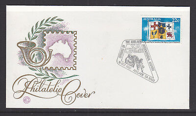 Souvenir Covers: 1982 Opening Of Adelaide International Airport On Wcs Cover