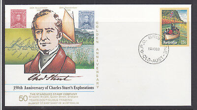 Souvenir Covers:1980 Golden Anniversary Of Sturt, Limited Edition #939
