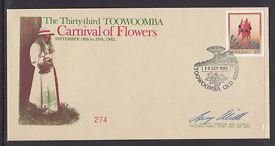 Souvenir Covers: 1982 The Thirty Third Toowoomba Carnival Of Flowers L/ed#274