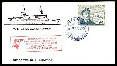 Mayfairstamps Chile Antarctic Expedition 1972 Cover MS Linblad Explorer Feb 9