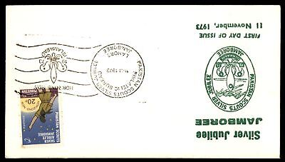 Mayfairstamps Pakistan 1973 Scouts Jamboree FDC UA Unsealed First Day Cover Gree