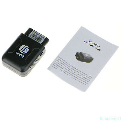 GPS TRACKER Vehicle Tracking GSM OBD II Mini GPRS Device with real IMEI number