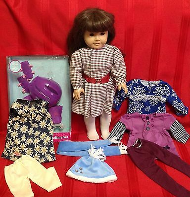 American Girl SAMANTHA Plus Extra Clothes