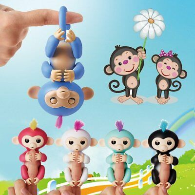 Fingerlings Interactive Pet Electronic Little Baby Monkey Children Kid Toy Funny