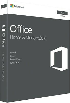 NEW Microsoft GZA-00984 Office Mac Home & Student 2016