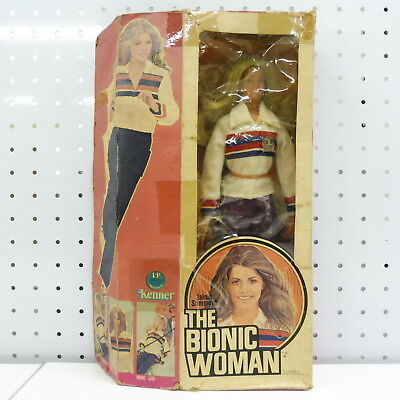 FO772 KENNER Jaime Sommers THE BIONIC WOMAN Doll Figure / Six Million Dollar Man