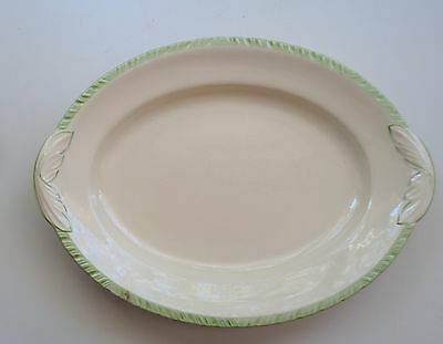 Vintage Art Deco 1930's New Hall Hanley Staffs England Charger Platter Plate