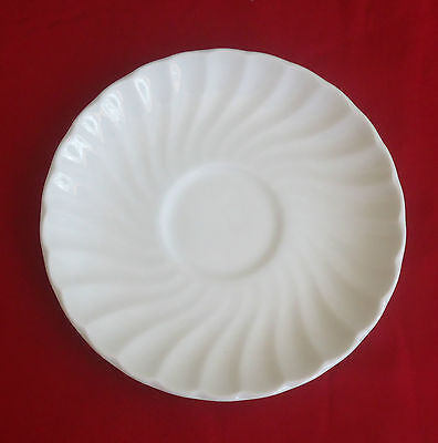 Vintage Johnson Brothers England Replacement Saucer *Regency White (3 available)