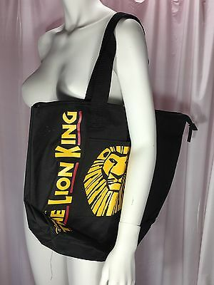 Disney The Lion King Tote bag with Zipper Broadway Souvenir Brand New With Tags