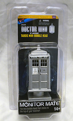 Bif Bang Pow! Doctor Who 50th Ann. TARDIS Monitor Mate Bobble - package blemish