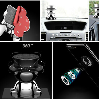Novelty Gadget 360°GPS Cell Phone Mount Holder Magnetic Car Dash Accessories New