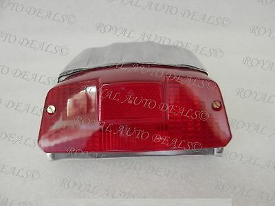 Lambretta Gp 150, 200 Polished Alloy Rear Tail Light Housing New Brand