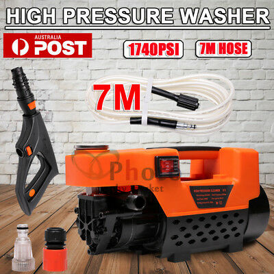High Pressure Water Cleaner 3200 PSI Washer Electric Pump Hose Gurney & 7M Hose