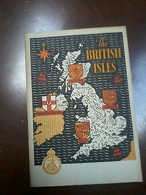 1948 The British Isles 78 pg. Travel Booklet Great pics.