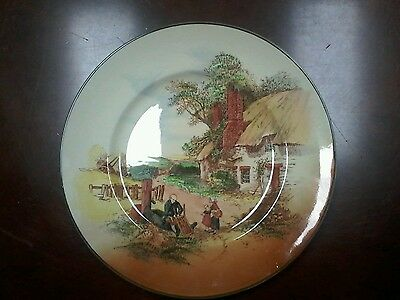 Royal Doulton Rustic England Collectable Plate