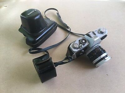 canon ft ql reflex camera