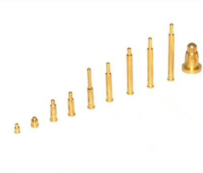 Gold plating Current Pogo Pin iProbe Spring Loaded SMT Testing Pins 2mm-9mm