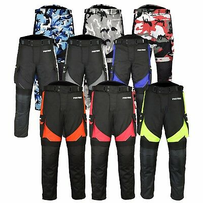 New Motorbike Motorcycle Cordura Textile Winter Trousers/Pants CE Approved Pants