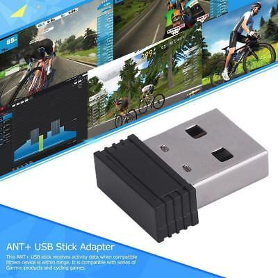 For Garmin 310XT 405 Mini Dongle USB Stick Adapter For ANT+ Portable Carry T•