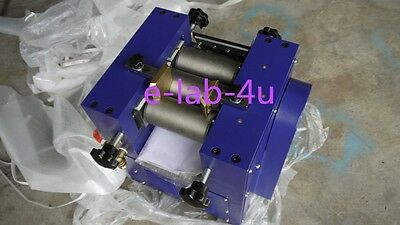 Three Roll Grinding Mill  grinder for lab applications 128mm roller 5kg/h e