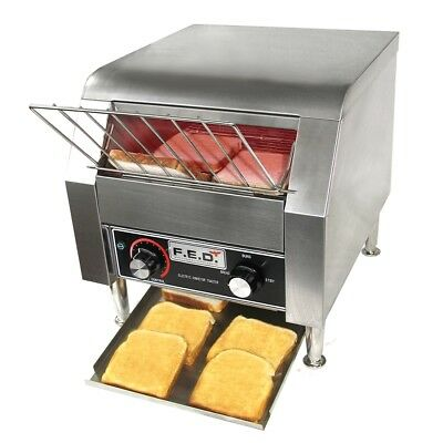 F.E.D Electric Conveyor Toaster for 2pcs of bread - TT-300KW