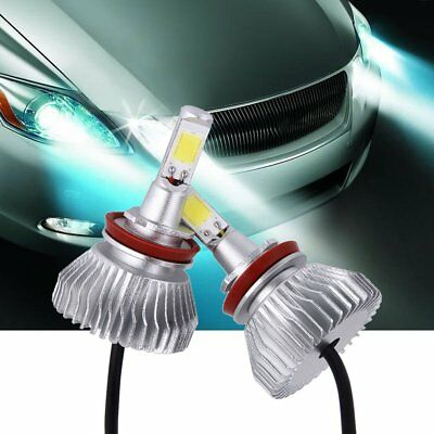 2 x LED Chips 60W 6000LM H4/9004/9007/H13/H1/H7/H3/9005/9006/H11 Headlight KitGR