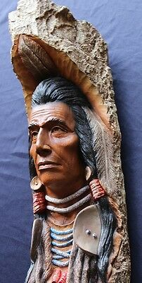 Native American Black Cloud Wall Sculpture Limited Edition By Neil Rose C1989