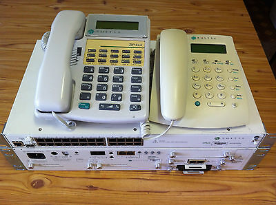 IP PBX - Zultys MX250 with Call Centre, Handsets, 2 x POE Switches
