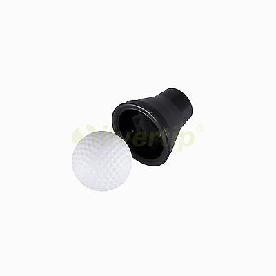 New Black Rubber Golf Ball Pick Up Putter Grip Retriever Tool Suction Cup Pickup