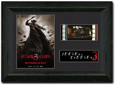 Jeepers Creepers 3 FRAMED Stunning 35 mm Film Cell Display Halloween