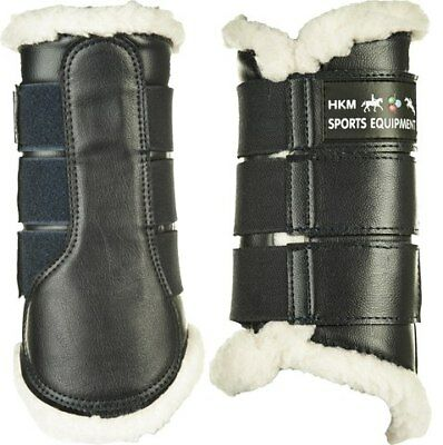 COMFORT BRUSHING BOOTS - Black -by HKM RRP $69.95