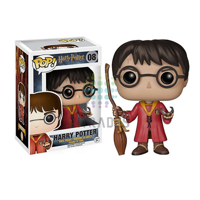 Funko Exclusive POP Movies #08 Quidditch Harry Potter PVC Action Figure Toy NIB