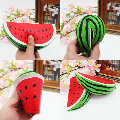 Cute Watermelon Squeeze Stress Squishies Toy Relief Scented Slow Rising Toy Gift