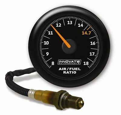 INNOVATE MTX-AL: Analog Air/Fuel Ratio Gauge Kit Black Dial  8-18 AFR #3855