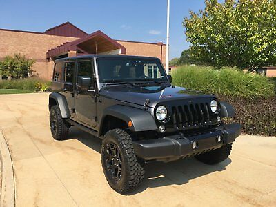 2016 Jeep Wrangler Willy's Unlimited 2016 jeep wrangler