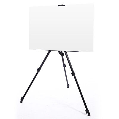 Artist Telescopic Drawing Board Studio Painting Easel Tripod Display Stand Case