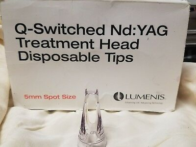 Lumenis Q-Switched Nd: Yag treatmemt Head (21) Disposable Tips 5mm spot size
