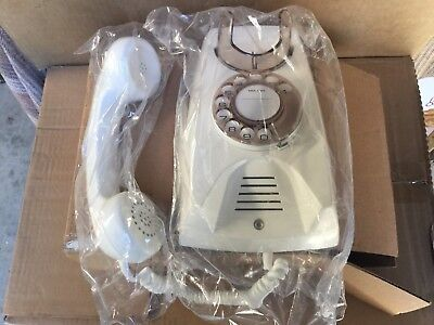 1 (one) Vintage NEW 1960/70s 891 WHITE WALL PHONE