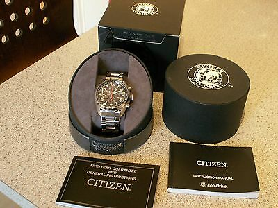 Citizen Eco Drive Chrono Watch WR 100 CA0368-56E