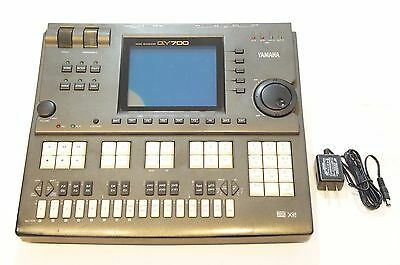 YAMAHA QY700 Workstation Sequencer MIDI QY-700 w/ Adapter AS-IS