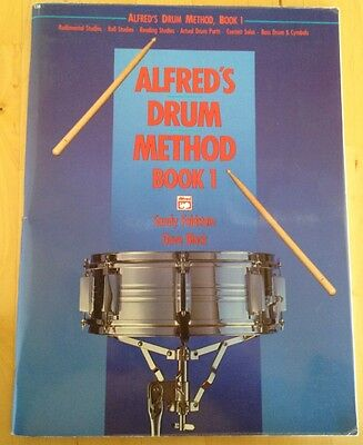 Alfred's Drum Method Book 1 - Feldstein & Black, Snare Drum Tutor (used) Ex Cond