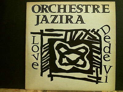 "ORCHESTRE JAZIRA  Love 12"" single  Anglo African  Jazz   RARE!"