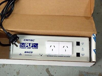 NEW Heavy Duty Erico CRITEC PLF Powerline Filters 10A 2400W RJ11 Surge Protector