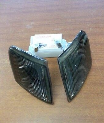Ford Escort RS Cosworth Smoked Front side position lamps NEW PAIR XR3i RS2000