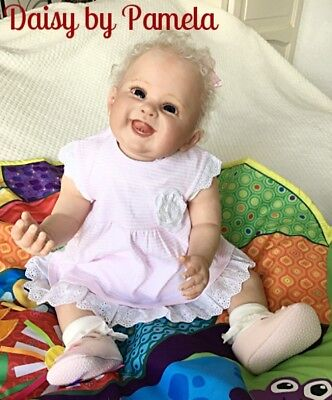Reborn Baby Girl Doll 'DAISY' from Pamela's Babies collection