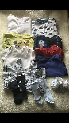 Pre-owned/ Boys Clothes/3-6 Month /Bundle Trousers/dungarees B6
