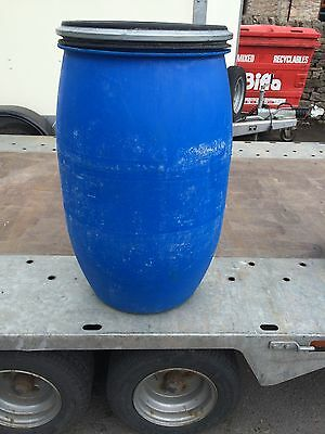 120L Litre Open Top Plastic Barrel, Keg, Drum Over 100 plus in stock
