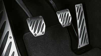 35002232277 BMW Genuine M Performance Stainless Steel Pedal Cover Set